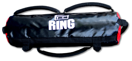 Ring SANDBAG, Sandsack, Crossfit, Outdoor,  Fitness, Training, 35 Kg, Farbe -Rot